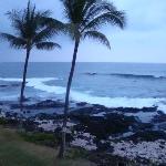 Beach view fron Lanai