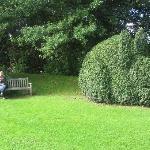 Gwydir Castle  - one of several garden seats