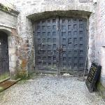 Gwydir Castle - entry gate - ancient and authentic