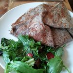 Crepe with side salad