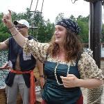 Pirate salute