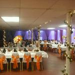 Banquet Room - easily decorated for any occasion!