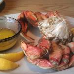 Dungeness Crab Dinner at Paddies Perch in Pacific Beach, Washington