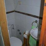 Baño sin ventana, dentro de la habitación