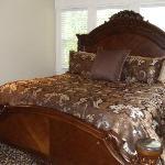 The Honeymoon room. King bed.