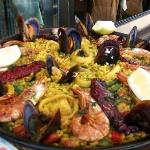 Mixed Seafood Paella!