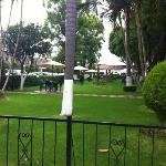 Jardin del Hotel Malibu
