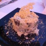 cremoso de arroz con boletus