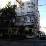 Vue de l'hôtel depuis wiedner hauptstrasse