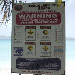 Smuggler's Cove Sign