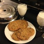 Free cookies and milk for completing scavenger hunt!