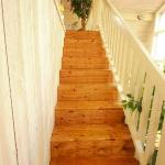 stairs to the upstairs room