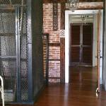 Hallway & Very Cool Old Elevator (decorative only)
