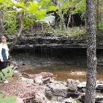 Maple Creek mini-waterfall