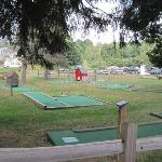 mini golf in need of update/cleaning