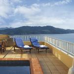 Presidential Suite Terrace Area, Reef View Hotel