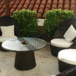 Terraza con pileta
