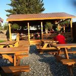 pavilion for outside eating