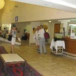 Lobby, Kibbutz Lavi Hotel, Tiberias, Israel