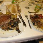Private Dinner, Kibbutz Lavi Hotel, Tiberias, Israel