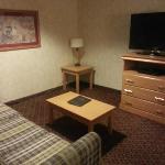 Doppelzimmer OG, 2x Queen, TV und Sofa