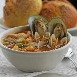 Seafood Minestrone.... Homemade Soups Made Fresh Every Day!