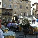 Short walk to Cafes in Piazza