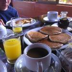 Breakfast was delicious