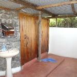 Toilettes et douche..au courant d'air