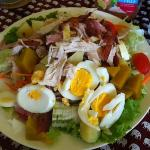 Ginormous house salad.