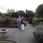 Out in the Loleta Cheese factory Gardens
