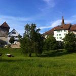 Park mit Schloss