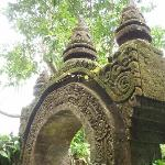 the grounds are full of amazing carvings