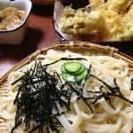 もりと野菜天ぷら