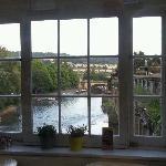 Vistas desde el Puente de Bath
