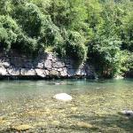 Accés rivière
