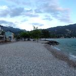 Panorama at Hotel Lido Blu beach front