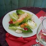 Salmon Caesar