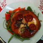 Cherry Tomato Tartlet with Yorkshire Blue & Balsamic