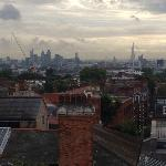 View of London from room 528