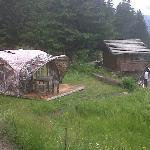 The Camp de Base Bivouac Experiences avec le Télémark Café au Chalet Refuge Vé la Marie à Noré