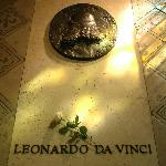 Tombe de Leonardo da Vinci. Amboise, Château royal