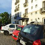 Бесплатная парковка и вход в отель