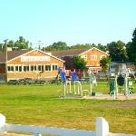 Playground and exercise equipment in North Rustico