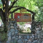 Entrance to the ranch