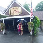 Entrance to tasting room/wine shop