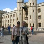 infront of the Tower of London