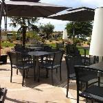Terrasse hotel Plaza