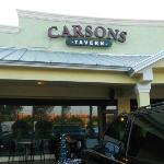 Carsons Tavern - The Front Entrance