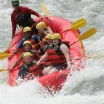 Rafting on the Savegre
